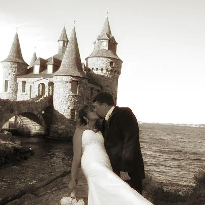we were so excited to find a photographer who had already been to boldt castle tana is an amazing person she captured our very special day